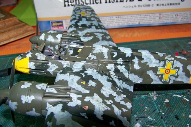 Henschel Hs129 B2 : 1/48 Lt Lazar Munteanu (fini) - Page 2 100_9054