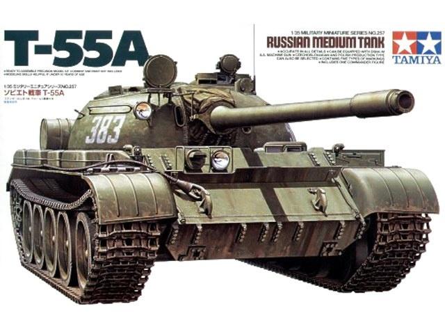 T-55A 1/35 Tamiya fini 16547311