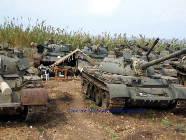 T-55A 1/35 Tamiya fini Ty-m1010