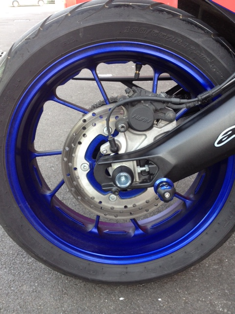 Maxya: Ma belle tracer race blu Roulet10