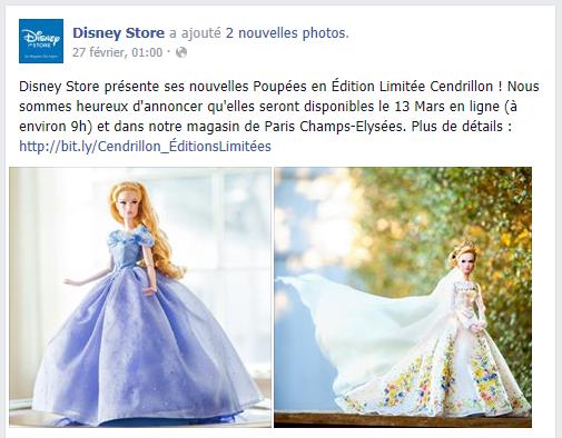Disney Store Poupées Limited Edition 17'' (depuis 2009) Cind210