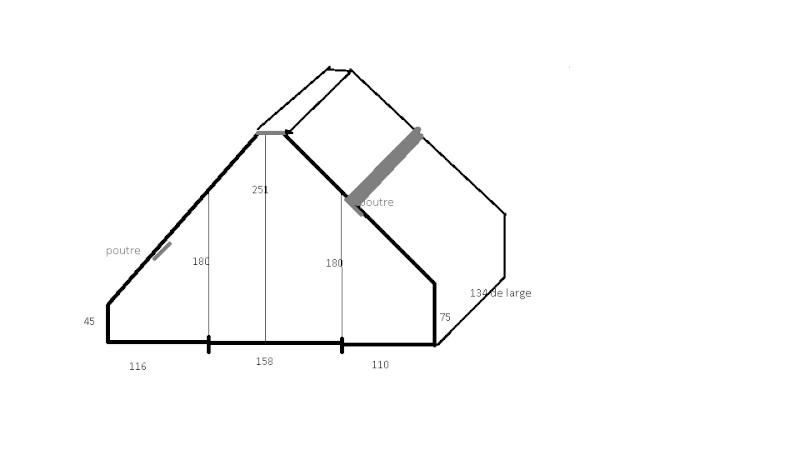 créer une salle d'eau dans tout petit espace mansardé, est ce possible ?? Plan_c11
