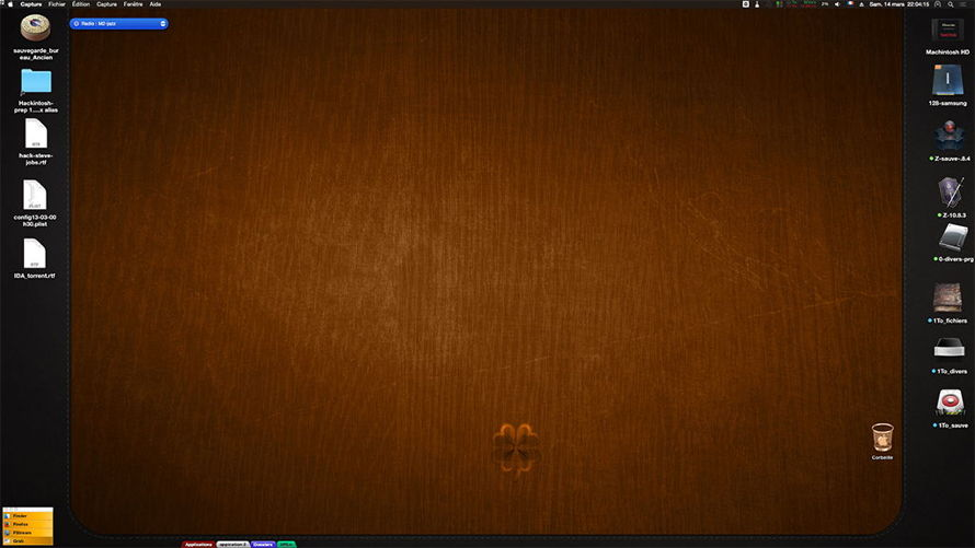 Montrer ici votre Desktop Ecran210