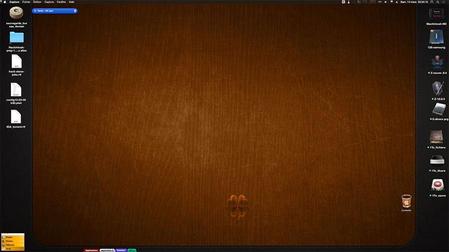 Montrer ici votre Desktop Ecran211