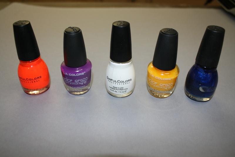 Nail polish for paint?? 00214