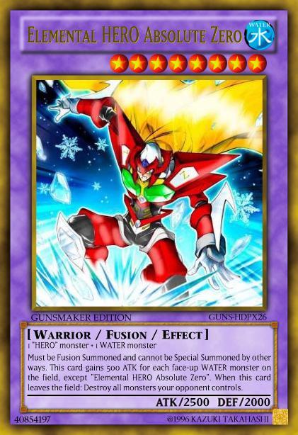 """Elemental HERO Absolute """"Zero"""" 40854110"""