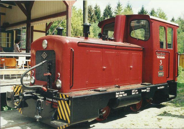 Diesellok ähnl. Hohenlimburger Kleinbahn - 3D-Druck in 1/45 714