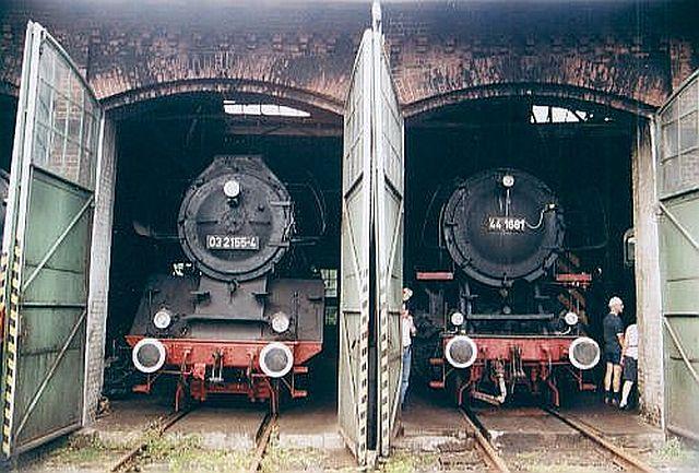 Besuch im Eisenbahnmuseum Dieringhausen 2003 Dierin10
