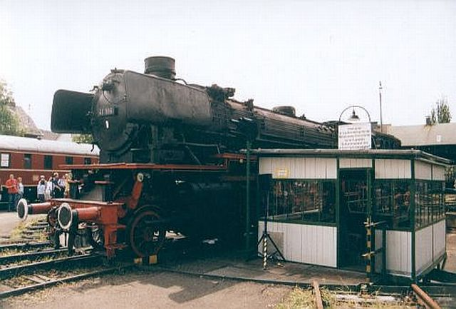Besuch im Eisenbahnmuseum Dieringhausen 2003 Dierin11