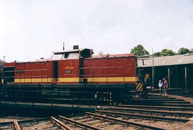 Besuch im Eisenbahnmuseum Dieringhausen 2003 Dierin14