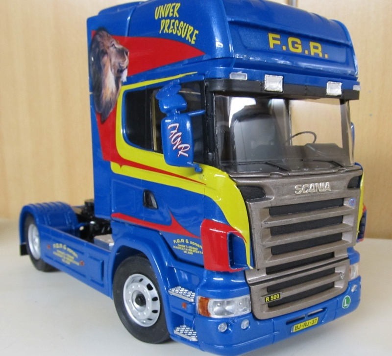 Scania-Modelle in 1 zu 24 Scania30