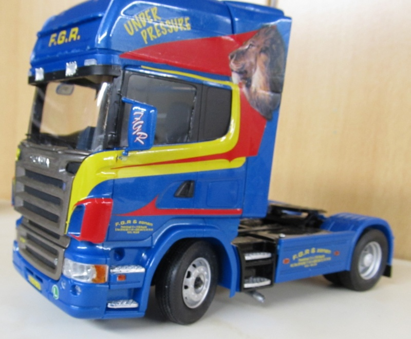 Scania-Modelle in 1 zu 24 Scania32