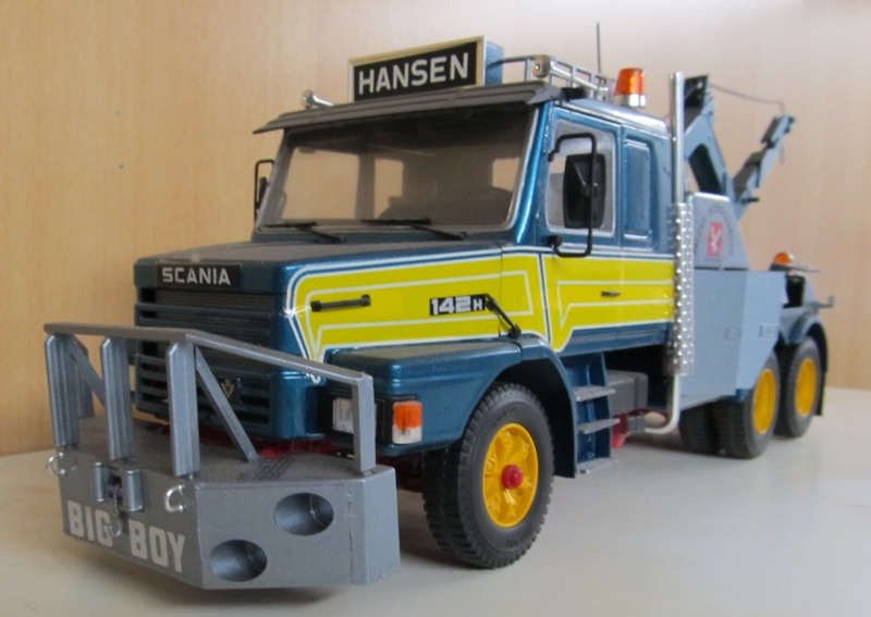 Scania-Modelle in 1 zu 24 Scania43