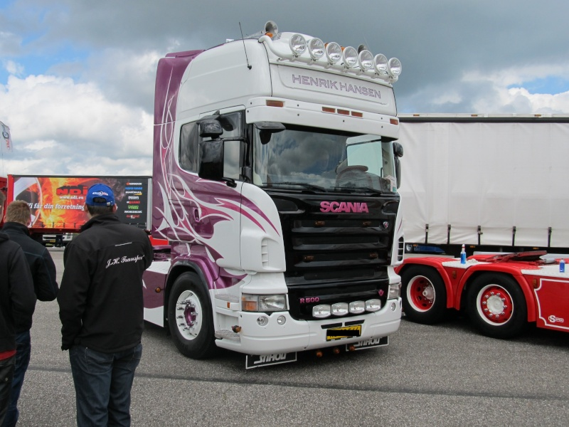 Trucker-Treffen in Dänemark Vandel10