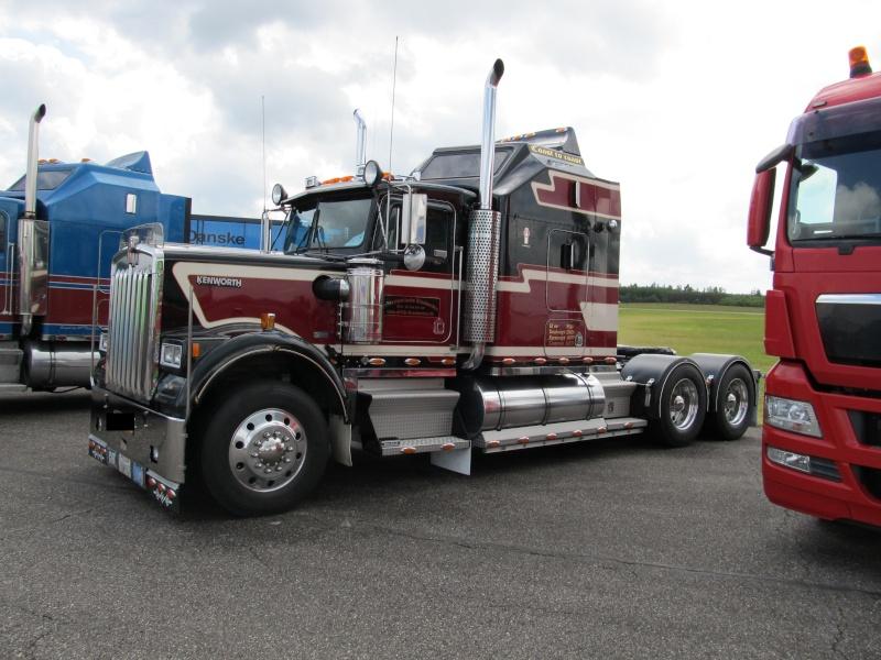 Trucker-Treffen in Dänemark Vandel28