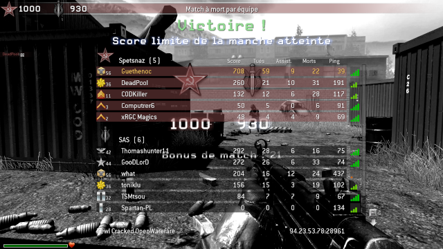 [Event] Lyricia sur Call of Duty 4 ! Callof10