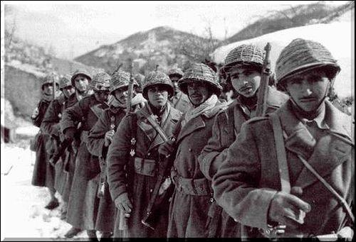 Fantassins Français 1943 45 Goumie10