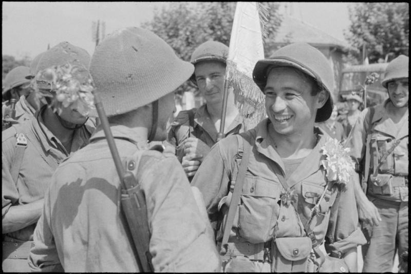 Fantassins Français 1943 45 Tirail11