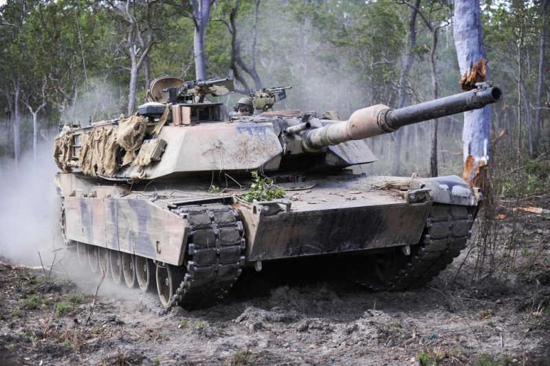 Aussie Abrams M1A1 Predat10