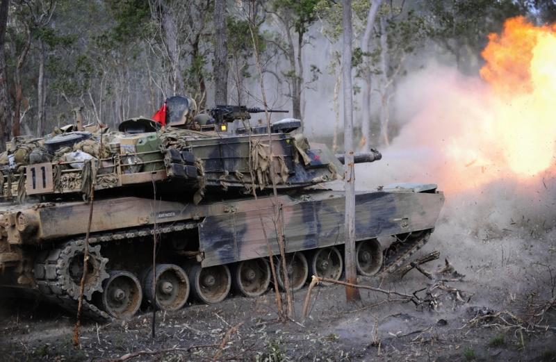 Aussie Abrams M1A1 Predat11