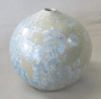 Crystalline Glaze Vase Crysta10