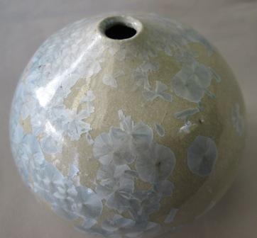 Crystalline Glaze Vase Crysta11