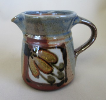 Glazed Jug with Eye mark - is Petra Meyboden Pretty10