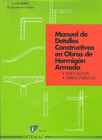 Portada del libro CalaveraManual de detalles constructivos en obras de hormigon armado