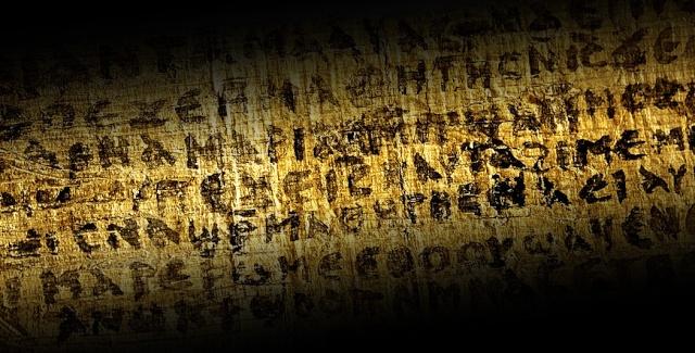 Découverte archéologique Evangile de St Marc dans une momie Momie-10