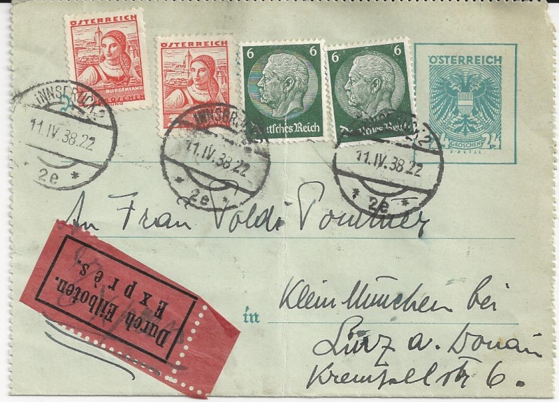 Österreich im III. Reich (Ostmark) Belege - Seite 5 Bild18