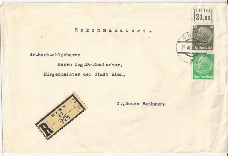 Österreich im III. Reich (Ostmark) Belege - Seite 5 Bild20