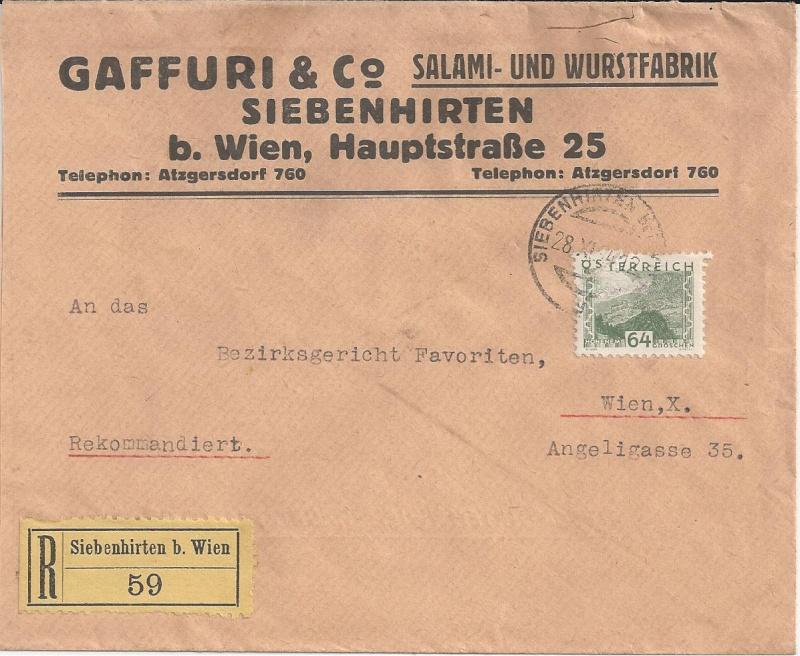 Werbeumschläge und -karten aus Österreich - Seite 2 Bild21