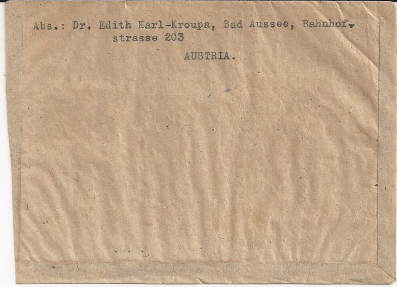 Flugpostausgabe 1947 Bild31