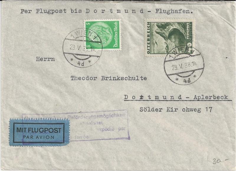 Österreich im III. Reich (Ostmark) Belege - Seite 5 Bild36