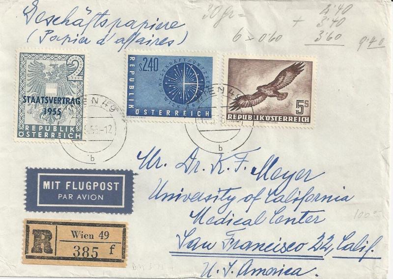 Sammlung Bedarfsbriefe Österreich ab 1945 - Seite 5 Bild49