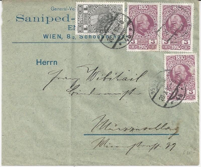 Die Freimarken-Gedenkausgabe 1910 Bild58