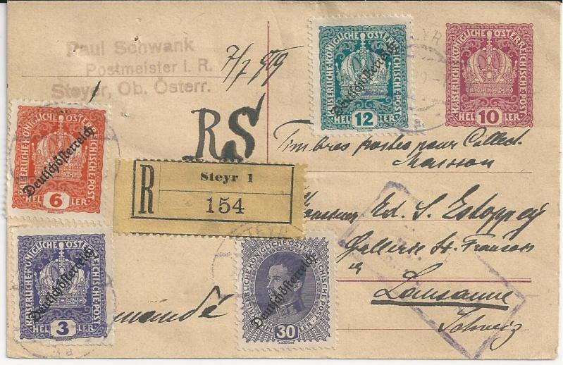 Inflation in Österreich - Belege - 1918 bis 1925 - Seite 3 Bild59