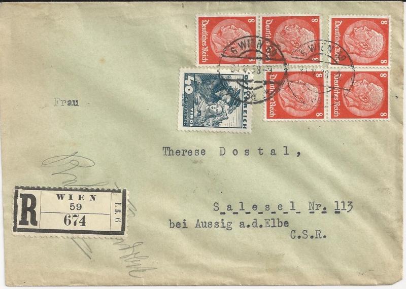 Österreich im III. Reich (Ostmark) Belege - Seite 5 Bild64