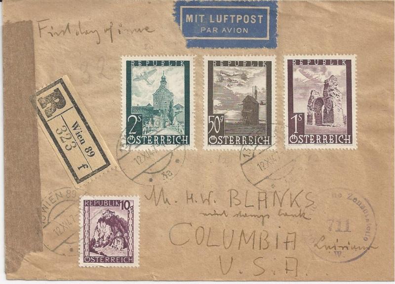 Flugpostausgabe 1947 Bild_111