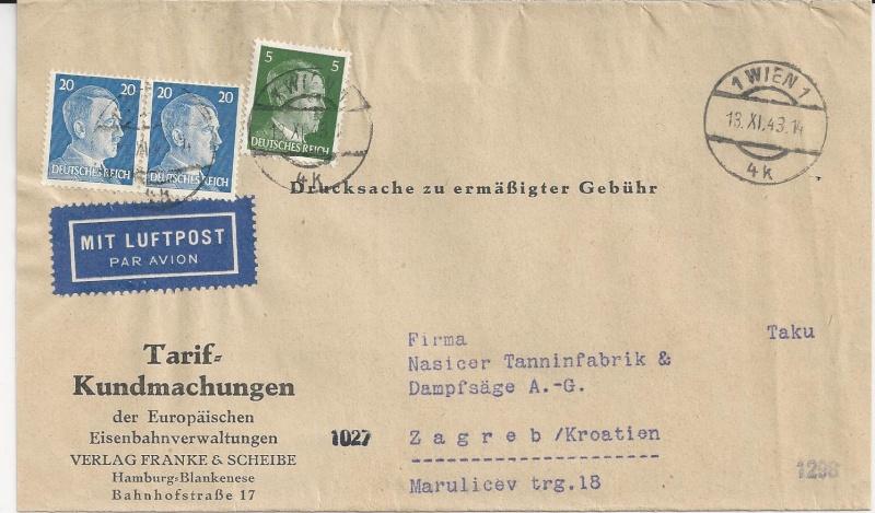 Österreich im III. Reich (Ostmark) Belege - Seite 5 Bild_218