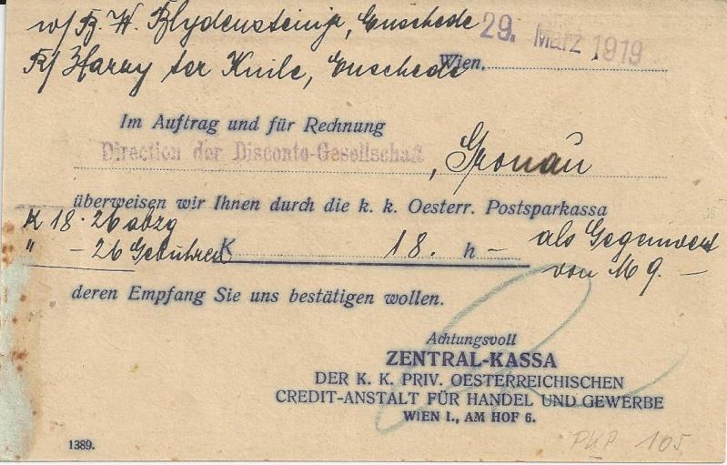 Briefe / Poststücke österreichischer Banken - Seite 2 Bild_219