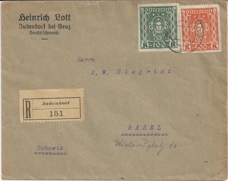 Inflation in Österreich - Belege - 1918 bis 1925 - Seite 3 Bild_226