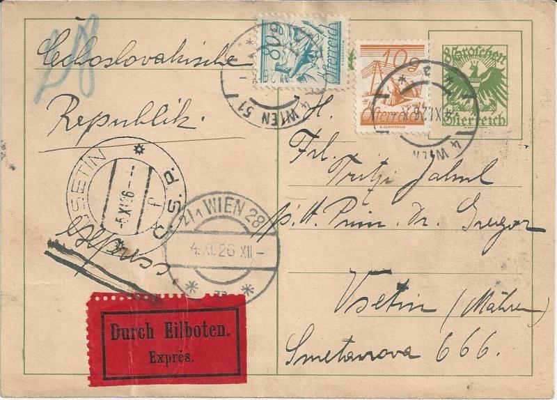 Bedarfspost Ganzsachen Österreich 1925-1938 Bild_237