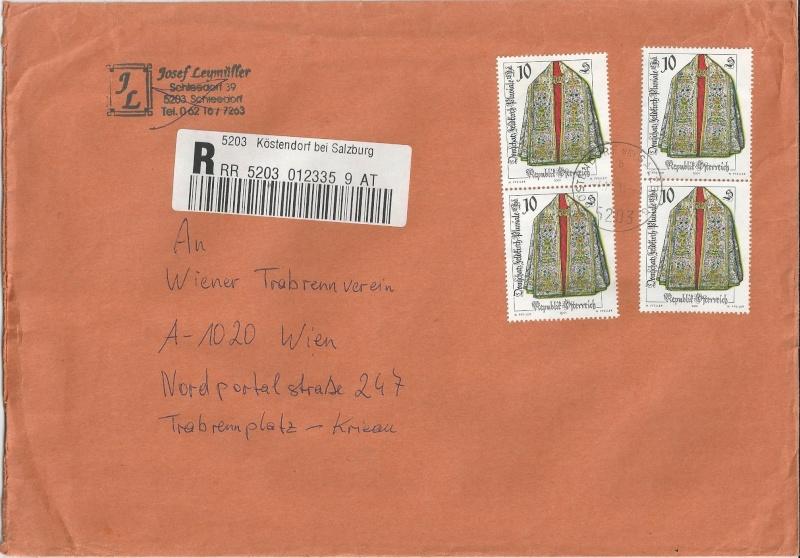 Sammlung Bedarfsbriefe Österreich ab 1945 - Seite 5 Bild_260