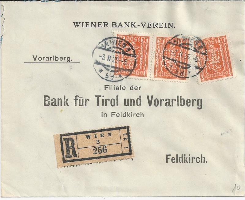 Briefe / Poststücke österreichischer Banken - Seite 2 Bild_318
