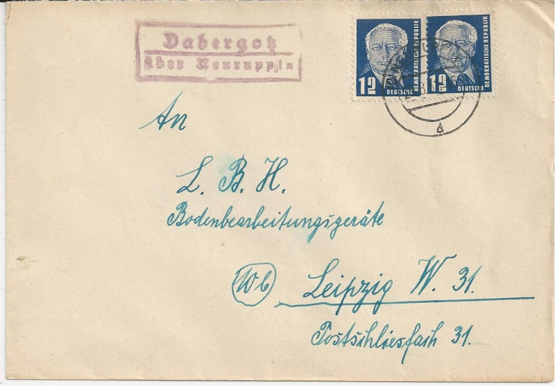 Ortsstempel aus Mecklenburg-Vorpommern Bild_325