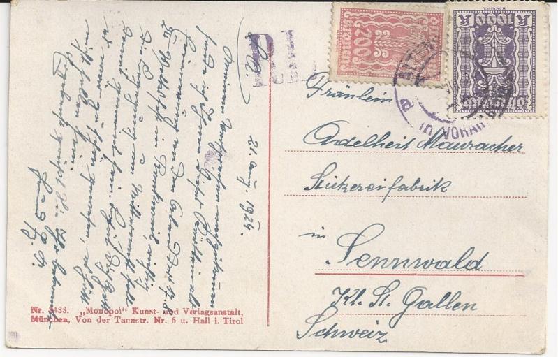 Inflation in Österreich - Belege - 1918 bis 1925 - Seite 3 Bild_328