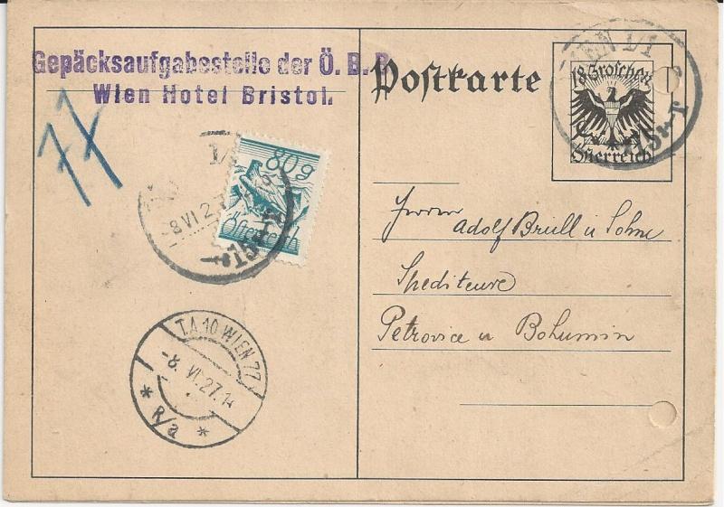 Bedarfspost Ganzsachen Österreich 1925-1938 Bild_332
