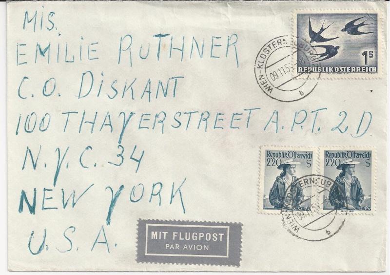 Sammlung Bedarfsbriefe Österreich ab 1945 - Seite 5 Bild_334