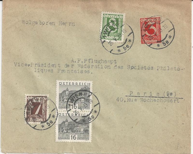Bedarfspost Ganzsachen Österreich 1925-1938 Bild_337